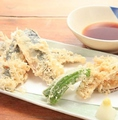 料理メニュー写真いわしの天ぷら