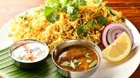◆南インドシェフが心を込めた本場のインド料理の数々!