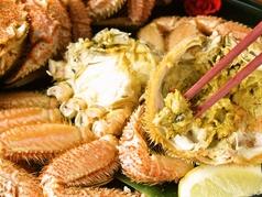 料理メニュー写真浜茹で毛蟹姿盛り