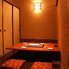 【完全個室】2~18名様で完全個室をご利用頂けます。