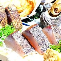 豪快に炙る!人気NO.1メニュー鮮魚の藁焼き