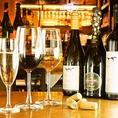 【おすすめクーポン】サルヴァトーレプライベートブランドのスパークリングワイン一杯サービス♪