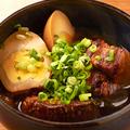 料理メニュー写真1日10皿限定!幻の豚「梅山豚」の角煮