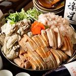 白子、牡蠣、あん肝の痛風鍋が大人気