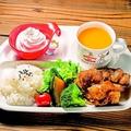 料理メニュー写真キッズプレート 鶏から