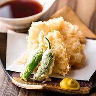 炭火焼鳥、天ぷら、寿司など拘りの料理をゆったり空間で