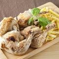 料理メニュー写真丸鶏塩焼き