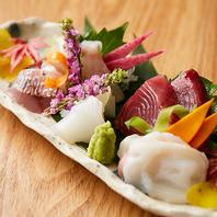 日本酒には旬の刺身が欠かせない◆新鮮な海鮮料理
