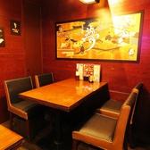 2名様~少人数から大人数までテーブル席がございます☆落ち着いた雰囲気で鍋を囲んで、ゆっくりおしゃべりとお食事を楽しんでください♪