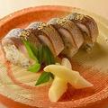 料理メニュー写真棒寿司(4貫)