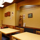 店内には2~6名様掛けのテーブル席をご用意しております。ご友人やお仕事仲間との飲み会やご家族でのお食事など、人数に合わせてお席をご用意いたします。歓送迎会、忘新年会、お仕事仲間との宴会などにも是非ご利用ください。
