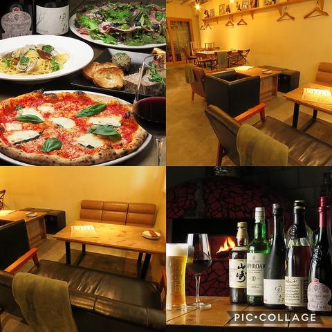 ピザ窯のある多国籍料理店 1scene