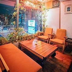 ◆デートにおすすめ♪◆ゆったりソファー席。女子会やママ会、カフェ利用にもおすすめです♪