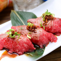 料理メニュー写真あぶり肉寿司