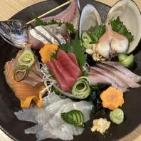 旬な鮮魚を拘り産地を選定して提供!!