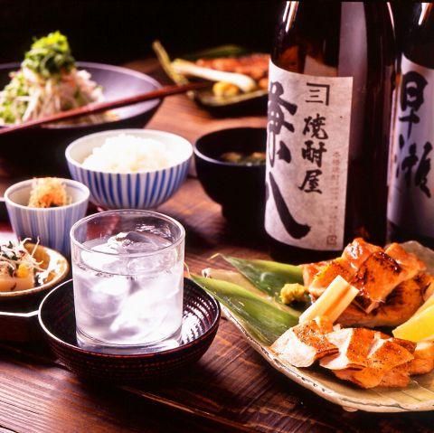 本格かまど炊きのごはんと、職人が仕上げる和食の味わい。