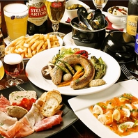 ベルギー伝統料理の数々