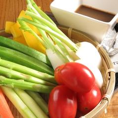 紫波野菜のバーニャカウダ