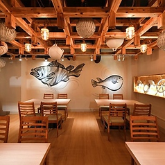 JAPANESE ROBATA ぴかり魚の雰囲気1