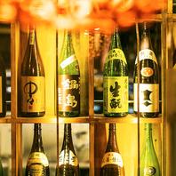 ■おしゃれな和風モダンな店内には銘酒もズラリ!