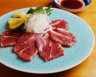熊本産 馬刺し Row horse meat