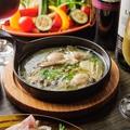 料理メニュー写真牡蠣アヒージョ