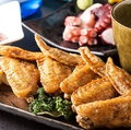 料理メニュー写真◆伝説の手羽先(国産鶏使用)