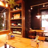 オシャレな空間で美味しいお料理とワインをどうぞ!
