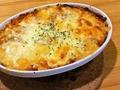 料理メニュー写真キノコとエビのトマトクリームドリア or グラタン