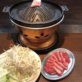 料理メニュー写真生ラムジンギスカンセット (生ラム肉+野菜盛り合わせ) 一人前