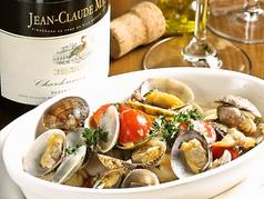 料理メニュー写真スズキのシチリア風アクアパッツア