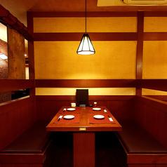 半個室タイプのお席も完備♪女子会・飲み会・誕生会・記念日に…♪個室は2名様~大歓迎★