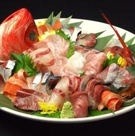 質の高い魚介類