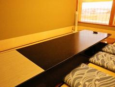 お座敷のお席は個室なので、お子様連れのお客様にも人気です