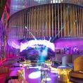 ラグジュアリーかつ豪華な内装!近未来型のセレブでゴージャスなNEW DANCE CLUB★店内装はマイアミ/ラスベガスのクラブデザインをイメージ!全館利用時なら最大350名(立食)まで収容可能!