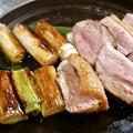 料理メニュー写真合鴨のねぎ塩焼き