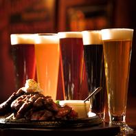 20種類以上のクラフトビールがございます♪