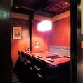 【テーブル個室】最大8名様までご利用できるテーブル個室のお席。