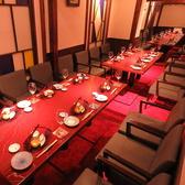 個室【1卓~5卓】 テーブル席 最大27名様