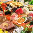 丹念に生産された食材は提携農家を通じ、安心安全で新鮮に満ちたものだけを厳選し使用するという徹底ぶり。当店自慢の一品となっています。生産者にも料理を提供したところ、美しく変貌した料理に舌筒みを打って頂けました♪みずみずしい新鮮な野菜を使用したお料理はヘルシーで美味しい!女性のお客様にも大人気です◎