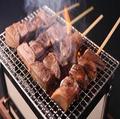 料理メニュー写真◆ネギ塩牛タン串