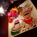 料理メニュー写真Birthdayケーキの一例です♪