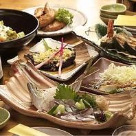 厳選素材のお魚菜料理
