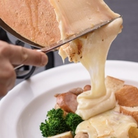 種類豊富なチーズ料理
