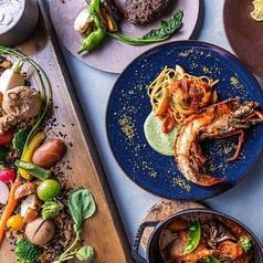 レストラン アズロマーレ Restaurant Azzurro Mare Terrace on the Bayのコース写真