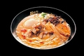 料理メニュー写真濃厚海老味噌ラーメン (並/全部のせ)
