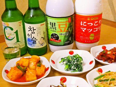 本場韓国の味が味わえるお店です!食材もお酒も多くを韓国から取り寄せています!
