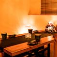 当店自慢の創作和食を揃えたコースは最大3時間飲み放題付2980円~ご用意しております。少人数の飲み会や女子会、会社宴会などに是非ご利用下さい!