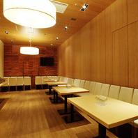 最大100名様収容可能な宴会個室