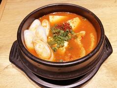 キムチチゲ (韓国納豆入り)